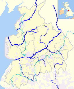 Rivers and canals in Lancashire is located in Lancashire