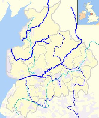 River Douglas (Lancashire) - Image: Rivers of Lancashire
