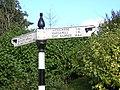 Road Sign in Carmunnock - geograph.org.uk - 60172.jpg