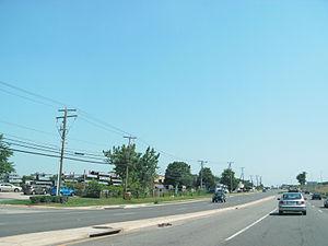 Newington, Virginia - Roadside scene in Newington, 2009