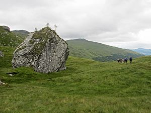 Stone put - Rob Roy's Putting Stone, a boulder supposedly used by Rob Roy MacGregor