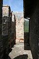 Rocca di Arquata del Tronto - ballatoio con merlatura del mastio.jpg