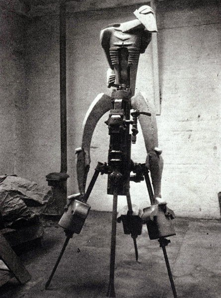Rock Drill by Jacob Epstein