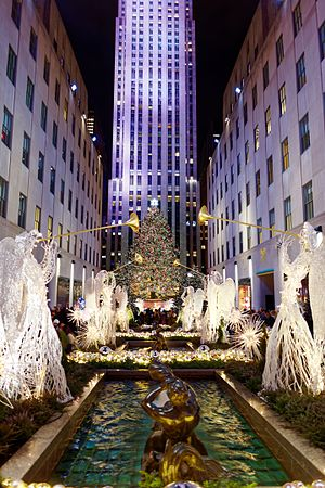 Rockefeller Center Christmas Tree - Image: Rockefeller Center Christmas Tree 03