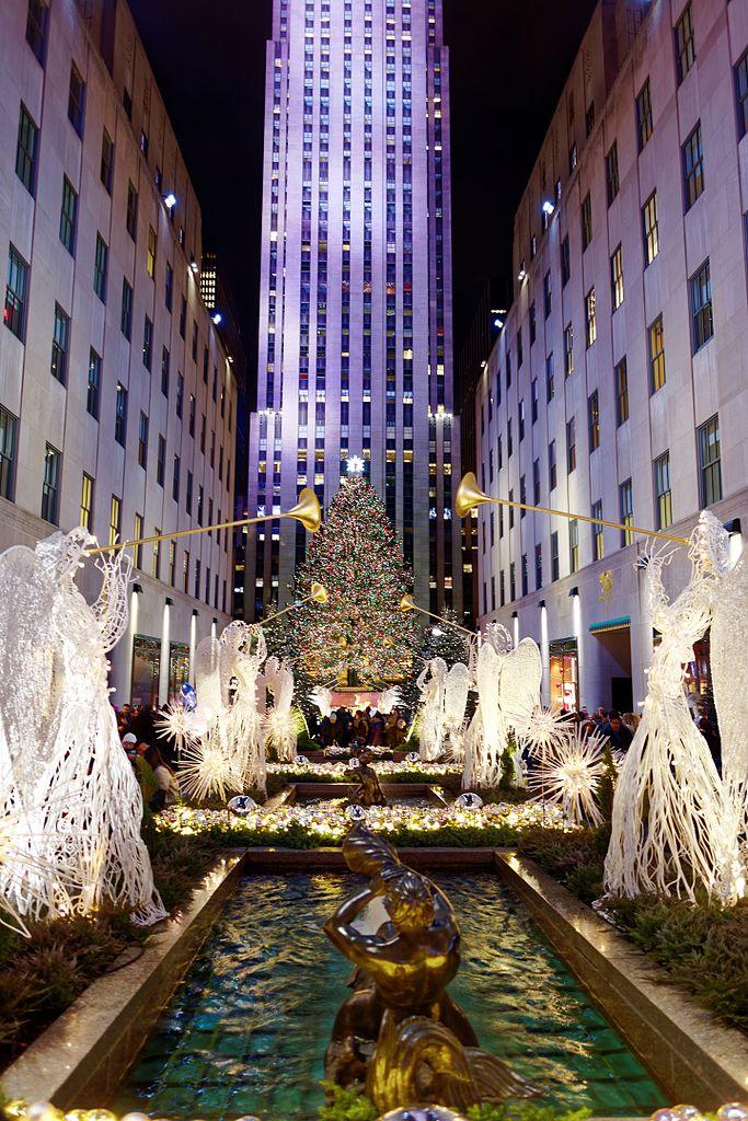 Christmas Tree Lighting Rockefeller Center 2017