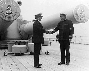 United States Battleship Division Nine (World War I) - Admirals Beatty and Rodman, 1917.