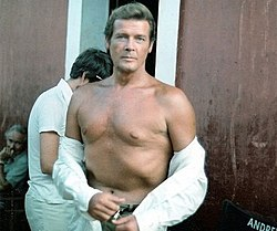 Roger Moore at the sets of Sea Wolves cropped.jpg
