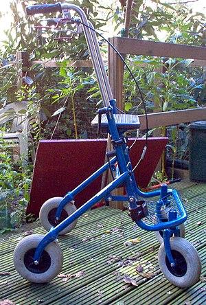 Walker (mobility) - Image: Rollator 1
