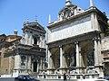 Roma - Piazza di San Bernardo - Fontana dell'Acqua Felice (Mose) & Santa Maria della Vittoria - panoramio.jpg