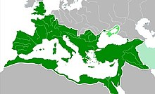 Roman Empire AD 117.