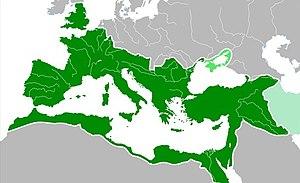 Mapa: Imperio Romano en su máxima extensión