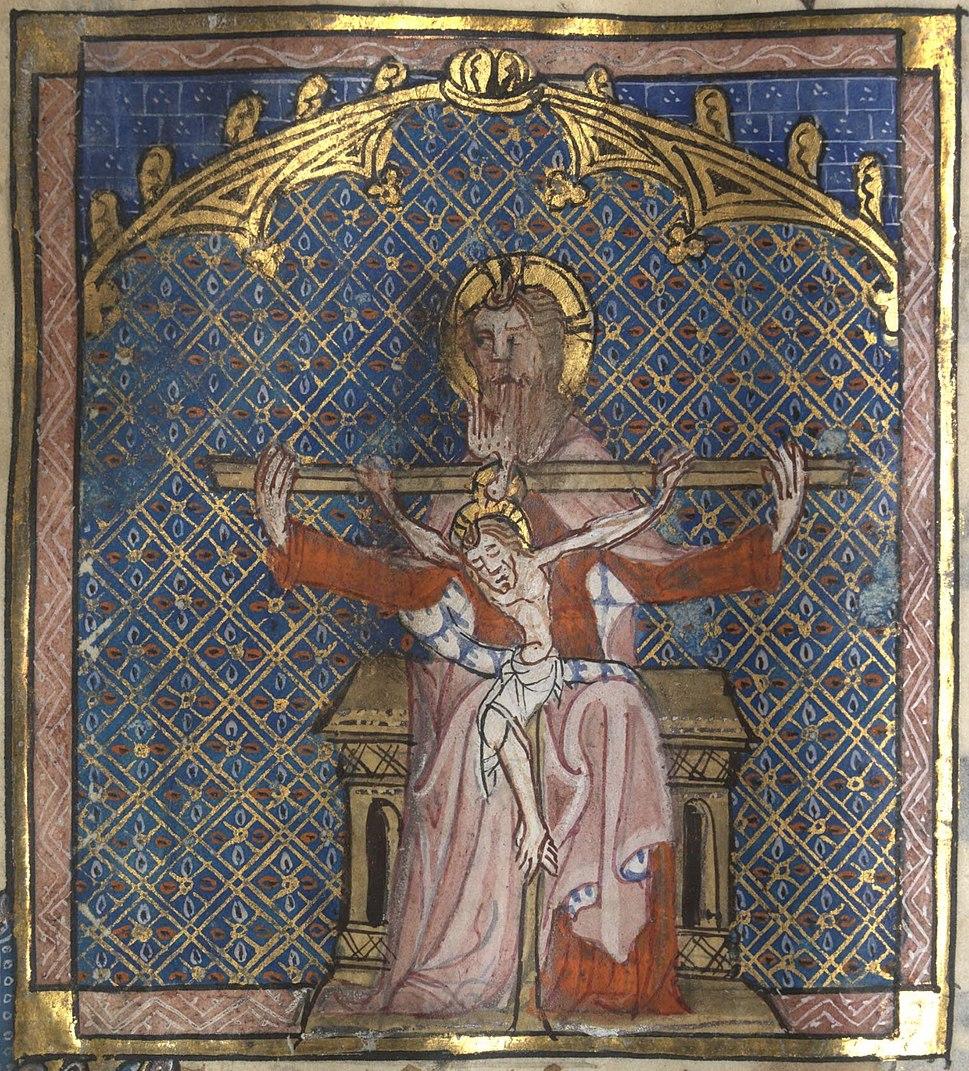 Roman de la Rose f. 138r (The Trinity)