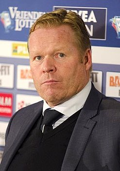 Ronald Koeman Manager of FC Barcelona