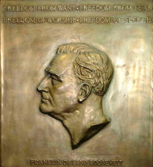 Roosevelt plaque
