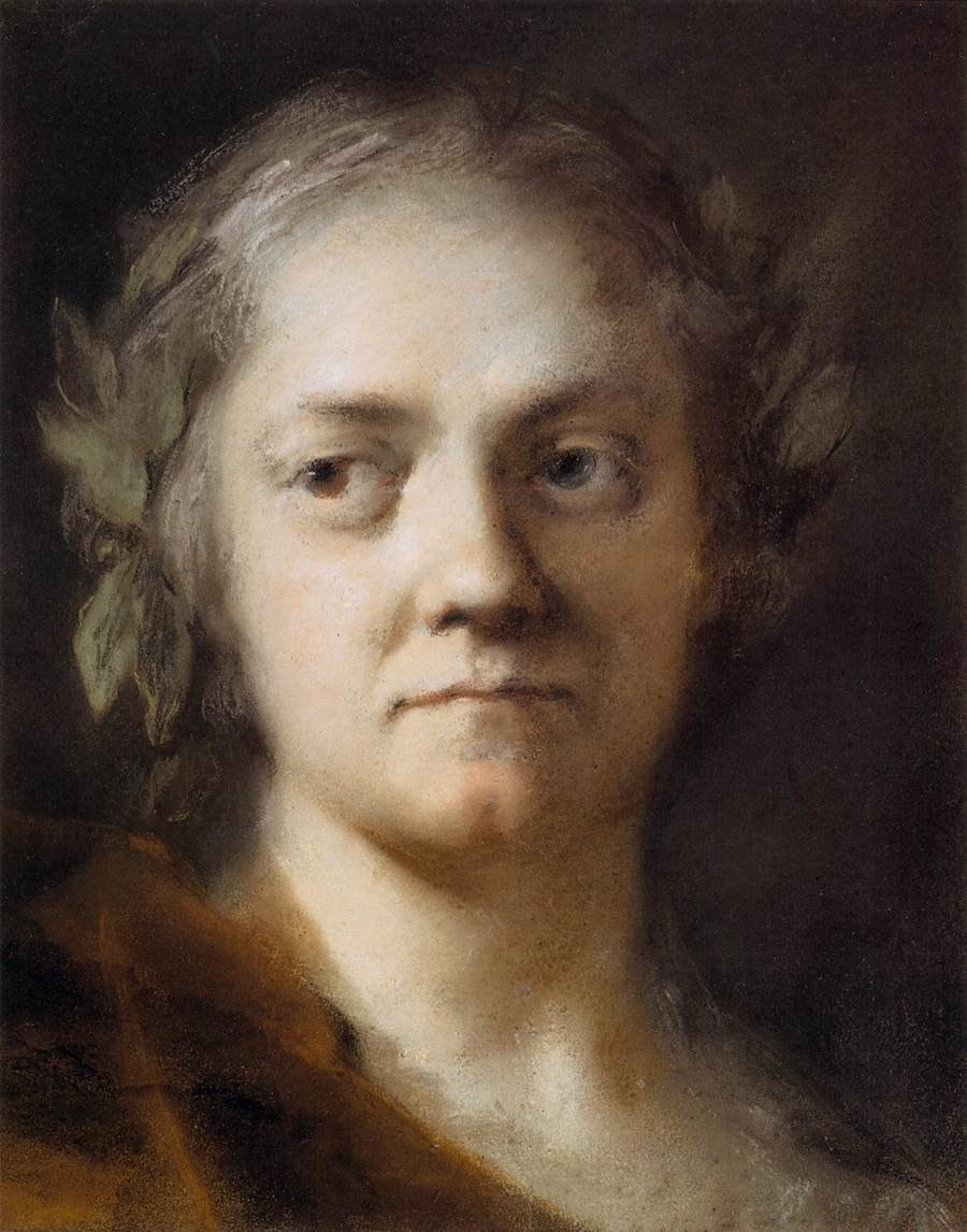 Rosalba Carriera - Self-Portrait - WGA04503