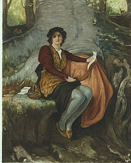 Rosalind (<i>As You Like It</i>) character in As You Like It
