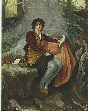 Rosalind (As You Like It) - Rosalind by Robert Walker Macbeth