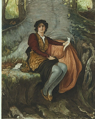 Robert Walker Macbeth - Fair Rosalind (1888)