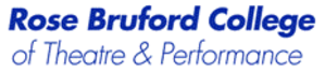 Rose Bruford College - Image: Rosebrufordlogo