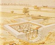 Rottenburg Sumelocenna by Eduard von Kallee