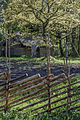 Roundpole fence in Estonian Open Air Museum.jpg
