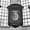 rouwbord in koor - breukelen - 20042076 - rce