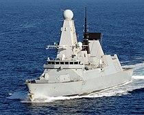 Royal Navy Type 45 destroyer HMS Daring MOD 45154175.jpg
