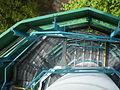 Rozhledna Bílá hora - schodiště pohled dolu.JPG