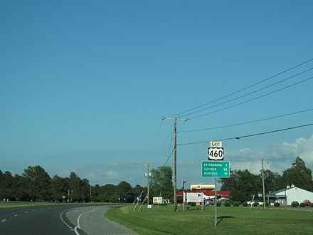 U.S. Route 460 in Virginia - WikiVisually