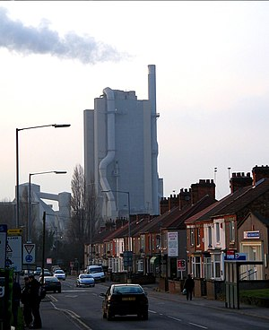 Rugby, Warwickshire - Rugby Cement works