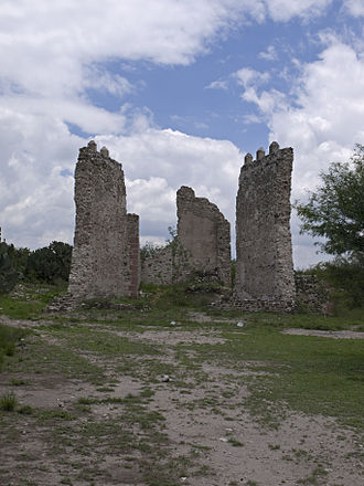 Tula de Allende - Ruins of the first Spanish Cathedral in Tula.