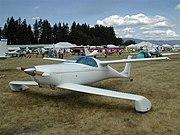 Rutan Quickie tandem wing biplane