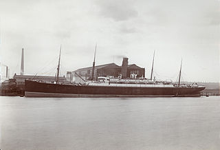 SS <i>Ivernia</i> British ocean liner owned by the Cunard Line