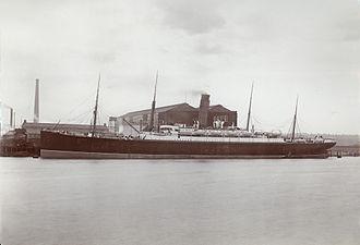 William Thomas Turner - S.S. Ivernia (ca. 1900).