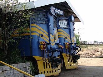 South African Class 5E1, Series 1 - Image: SAR Class 5E1 Series 1 E397
