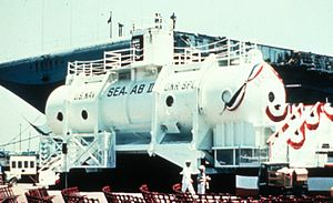 SEALAB - SEALAB II above surface