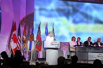 Kathleen Wynne - Wynne speaking in 2017