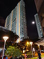 SG Residential buildings apartments high-rises Jun-2015 DSC Singapore night.JPG