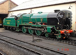 SR Lord Nelson class - No. 850 Lord Nelson as preserved
