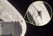 STS-117 OMS blanket