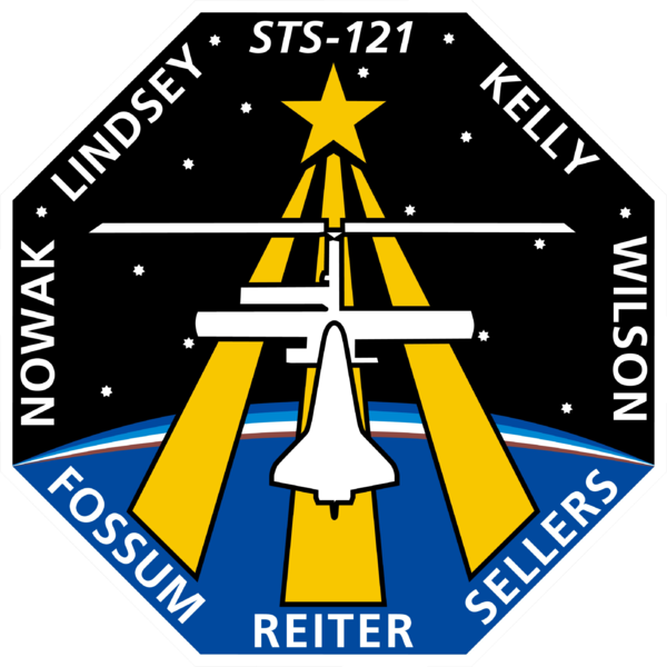 Fitxer:STS-121 patch.png