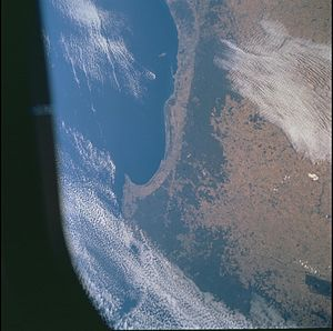 Darling Scarp, Perth, and Swan Coastal Plain. Image Science and Analysis Laboratory, NASA