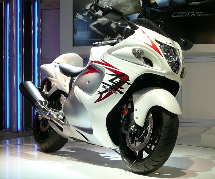 The suzuki hayabusa