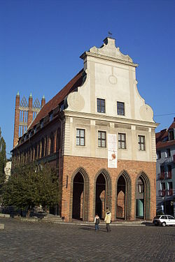 The Old Town Hall, now the city's history museum