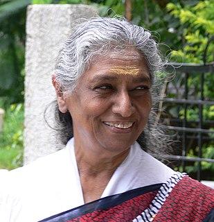 S. Janaki Indian singer