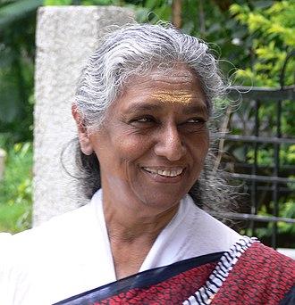 National Film Award for Best Female Playback Singer - Image: S Janaki in Pune, India 2007