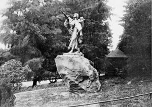 Sacajawea and Jean-Baptiste - The statue c. 1912