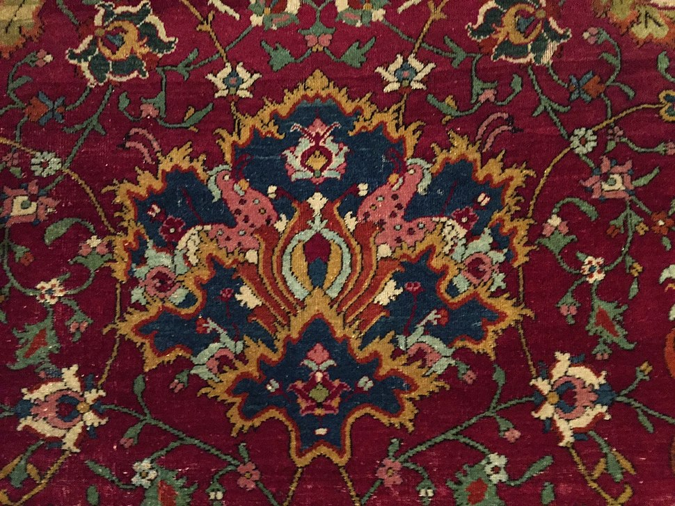 Persian Carpet Howling Pixel