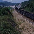 Safety siding in Jungang line Old Danyang Station 1985.jpg