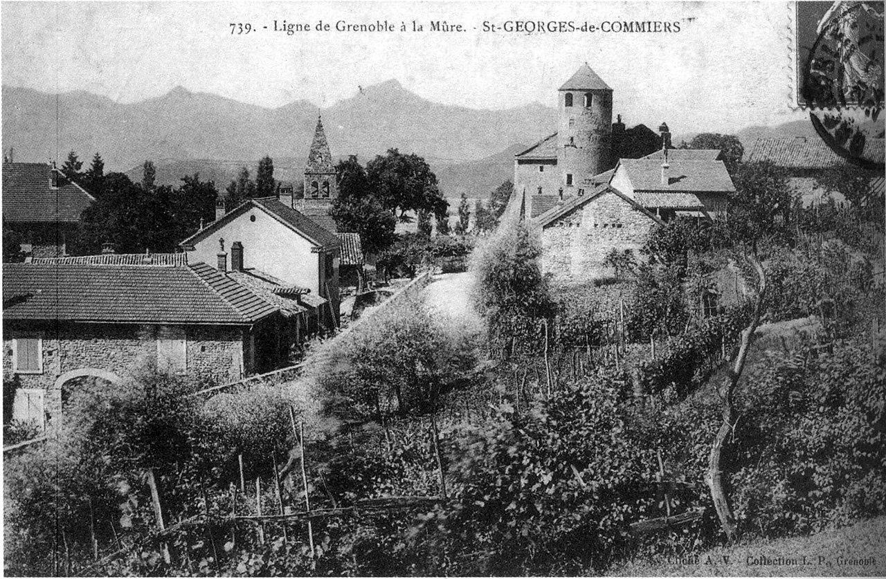 Fichier saint georges de commiers ligne de grenoble la for Maison saint georges de commiers